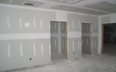 Offices drywalling